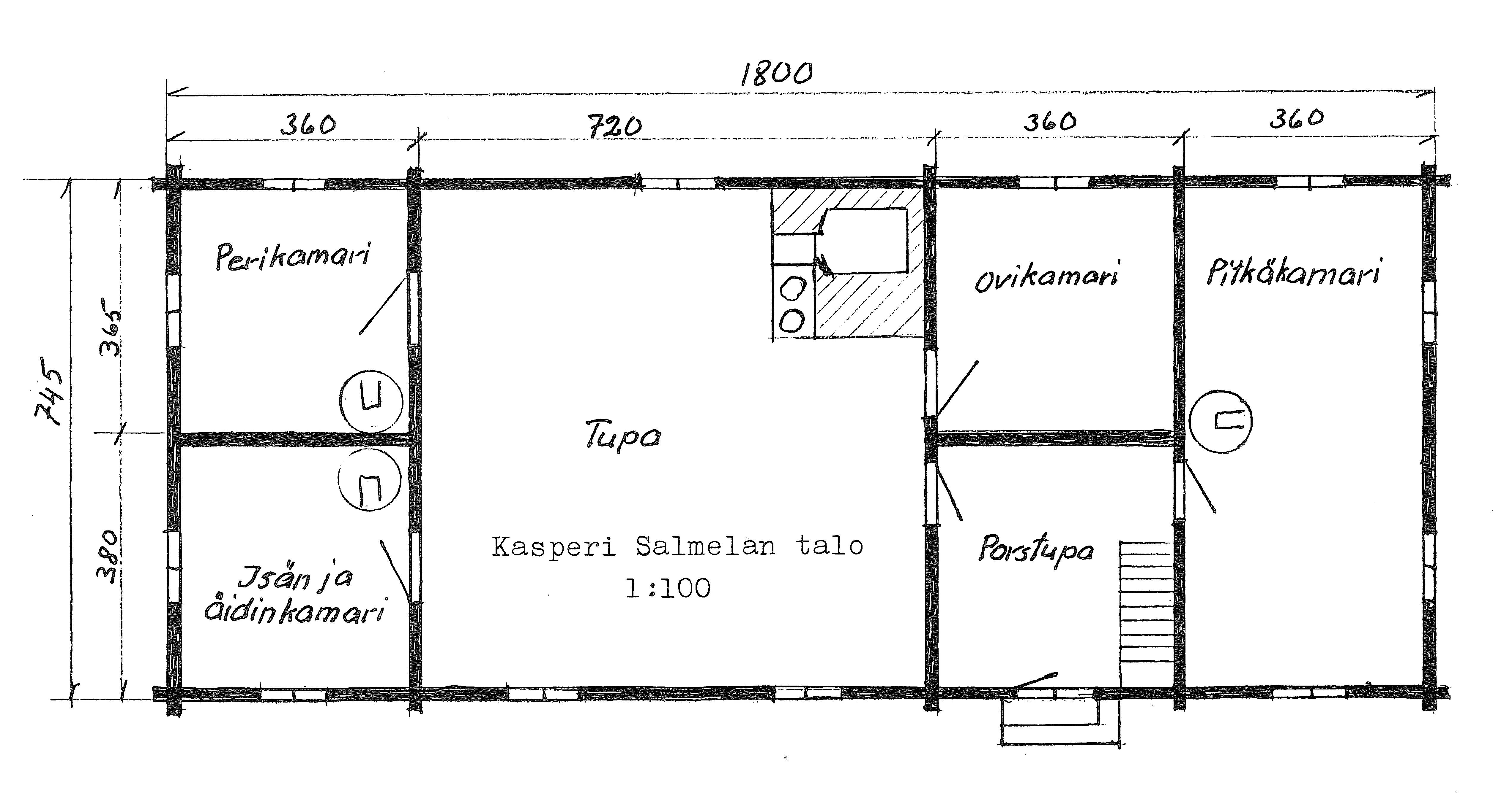 S-P-0041 - Sulo Salmela - Elämäni tilkkutäkki - Kasperintupa 1915