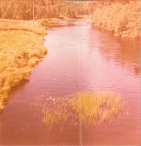 S-VK-0003 - Perhojoki Marttilan sillalta 60-luvulla - Leena Salmela