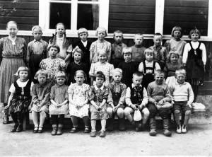 S-VK-0902 - Räyringin koulun luokkakuva