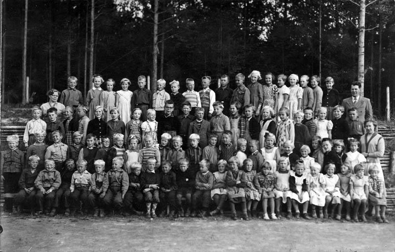 S-VK-0903W - Räyringin Ahon koulun oppilaat