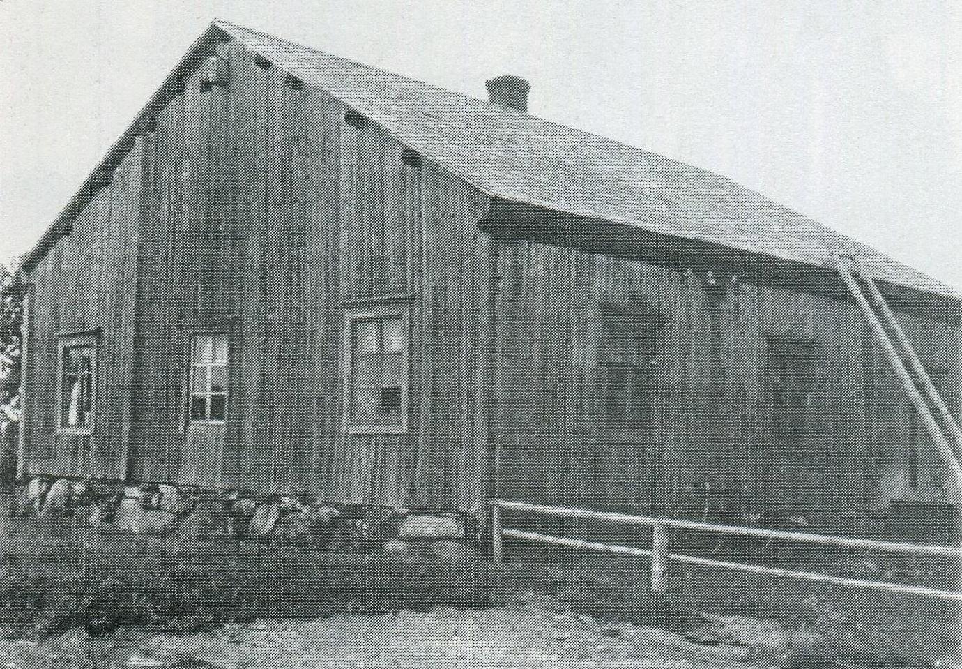 Alperin Matintupa eli Vanhatupa 1949 - purettu 1952