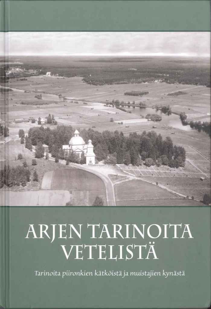 Arjen Tarinoita Vetelistä -kirjankansi