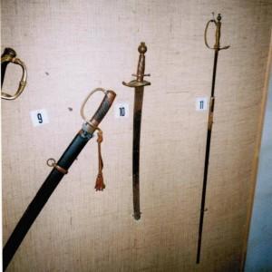 Demetrius Salmelan poliisi miekka numero 10, Vetelin museo - Maija Ali-Haapanan kuva