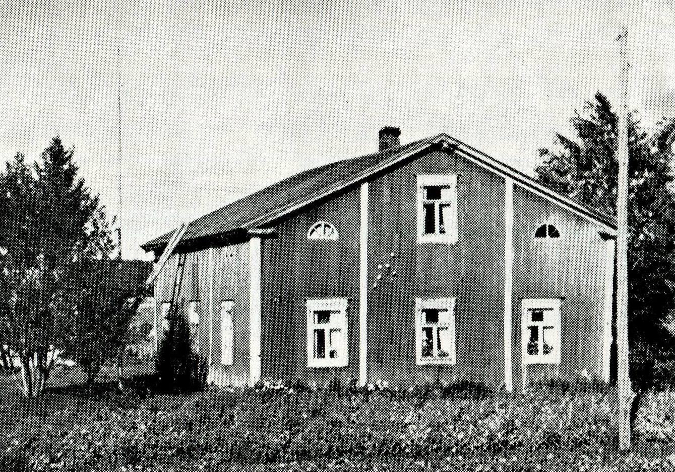 Hyypän talo 1953 - Valokuvaaja E Alakönni