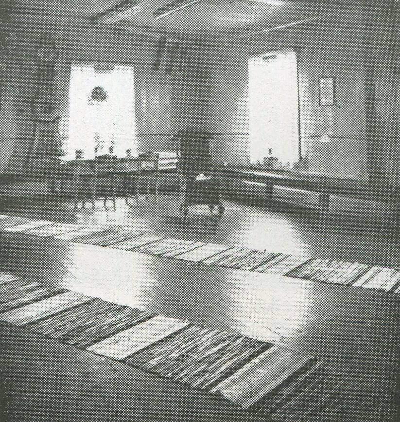 Hyypän talon juhlava tupa vuonna 1952