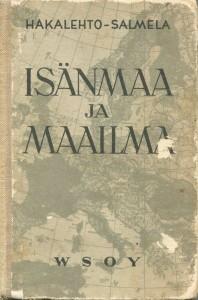 Isänmaa ja maailma 1931 -kirjankansi