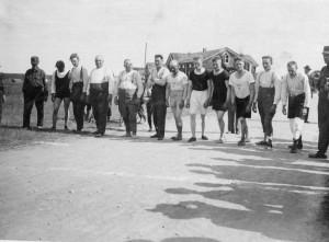 Juoksukilpailu Halsuan Uudentalon kentällä