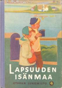 Otavan lukemisto 4 - Lapsuuden isänmää 1952 -kirjankansi
