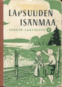 Otavan lukemisto 4 - Lapsuuden isänmää 1955 -kirjankansi