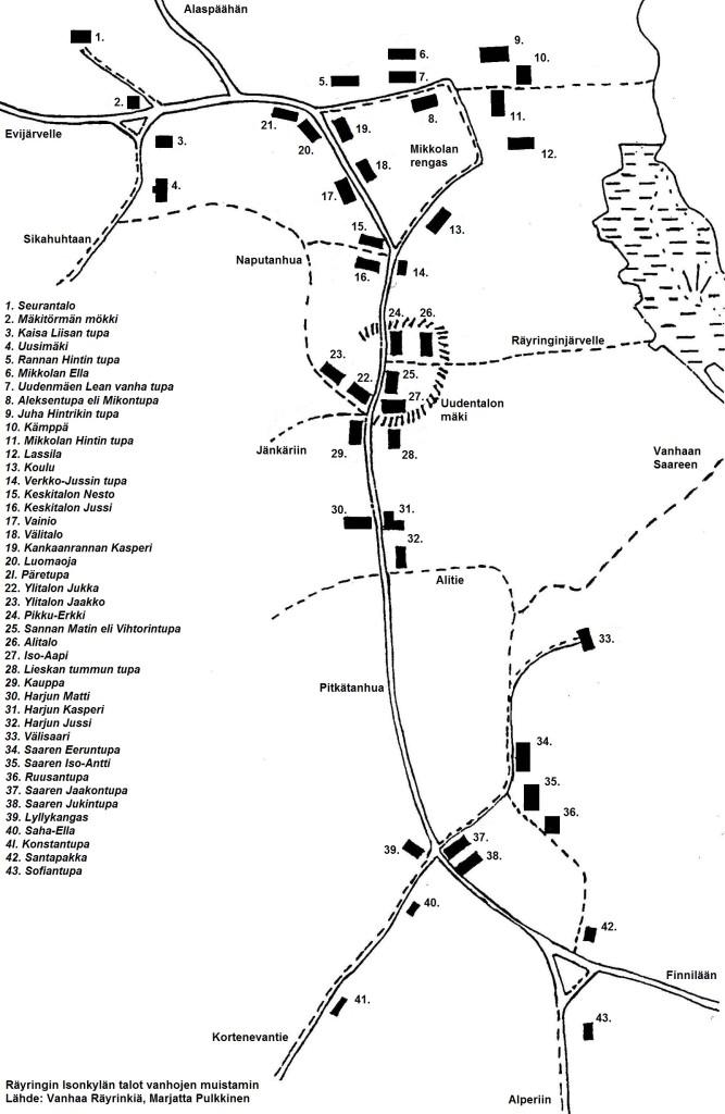 S-P-1015 - Isonkylän kartta