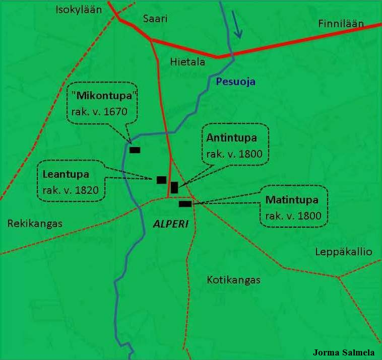 S-P-1016 -Alperin kylä