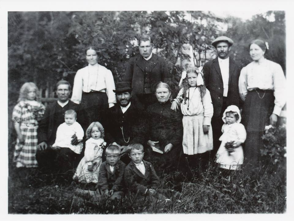 S-VK-0039W Anna os Salmelan ja Matti Venetjoen perhe