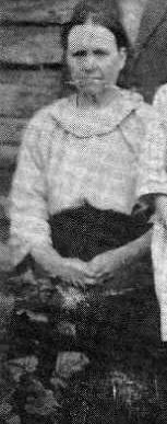 S-VK-0042W - Leanderin Salmelan perhe vuonna 1921 - Fiia Salmela os Mikkola