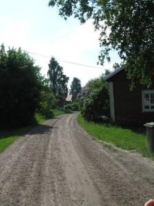 S-VK-0107W - Forsbackan tie ohi Isontuvan