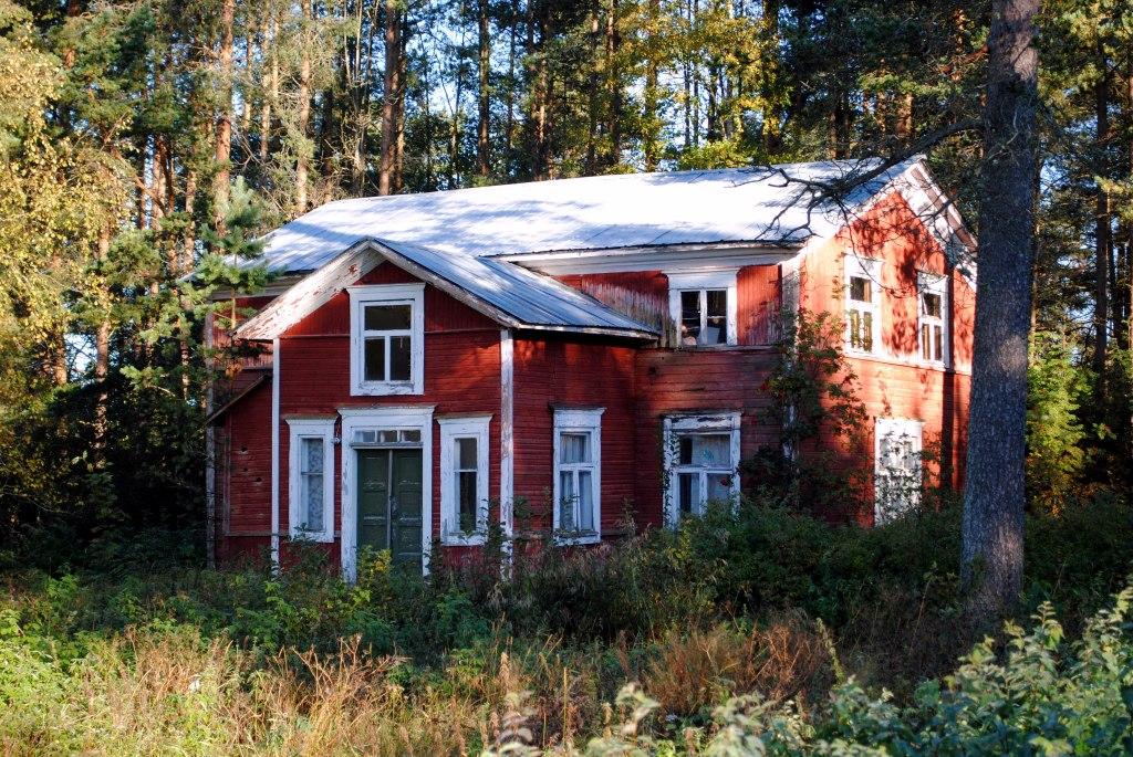 S-VK-0604W Aune os Salmelan ja Reino Kauppisen talo - Demeteriuksen talon pääty