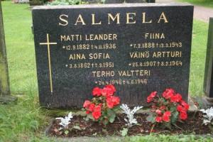S-VK-3100W - Hauta Leander ja Fiina Aapramintytär Salmela