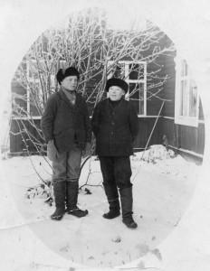 S-VK-4191W Uljas Salmela ja Heimo Salmela