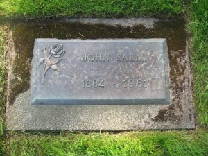 S-VK-4202W - John Salmi - Nestori Salmelan hautakivi