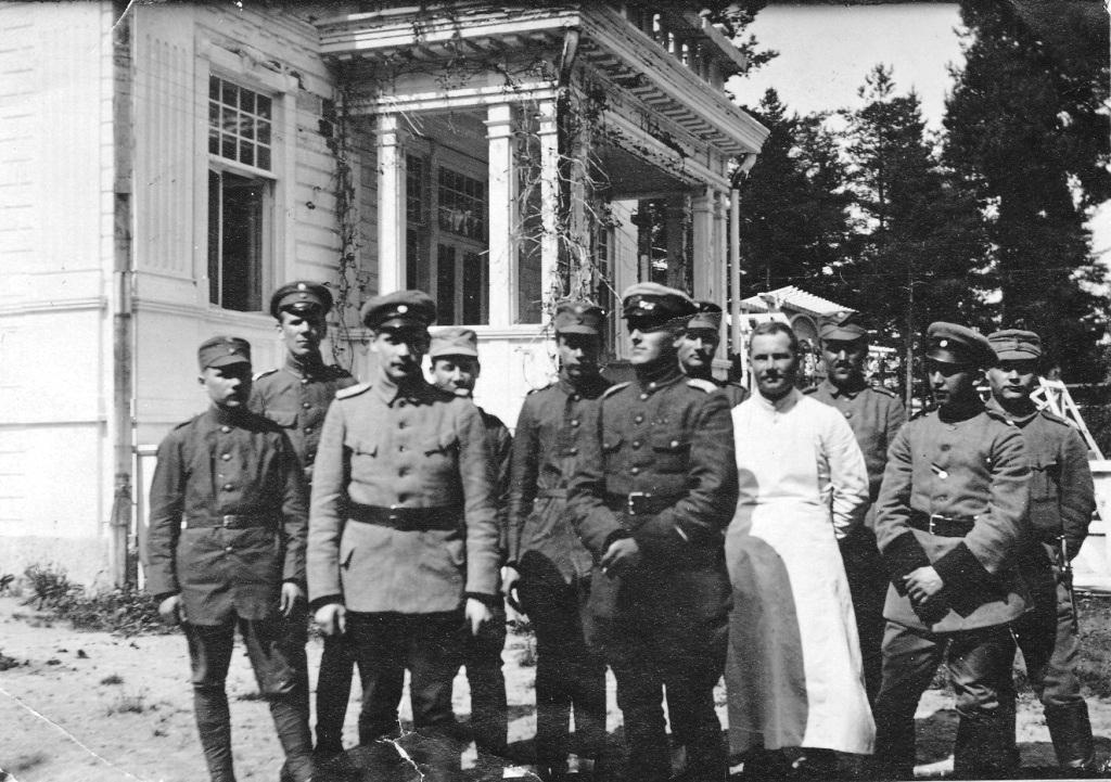 S-VK-S0001W - Alfred Salmela Itsenäisyyssodan upseerina