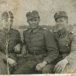 S-VK-S4237W - Jussi Salmela ja sotakaverit Lapin sodassa