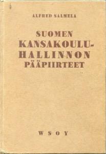 Suomen kansakoulun hallinnnon pääpiirteet -kirjankansi