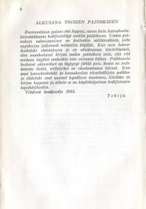 Suomen kansakoulun hallinnon oppikirja -alkusanat