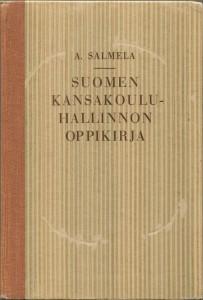 Suomen kansakoulun hallinnon oppikirja -kirjankansi